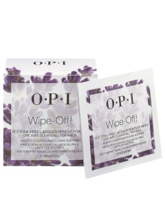 Wipe-Off Acetone Free Lacquer Remover Wipes