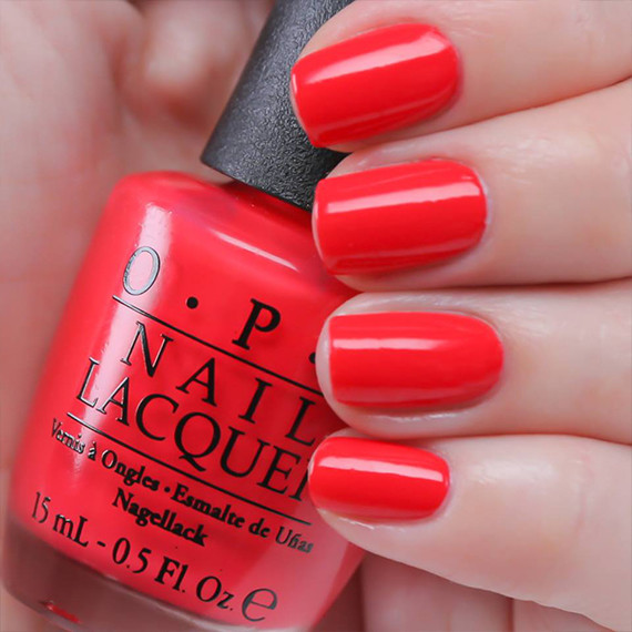 Best Bright Red Nail Polish: A Classic Red Mani