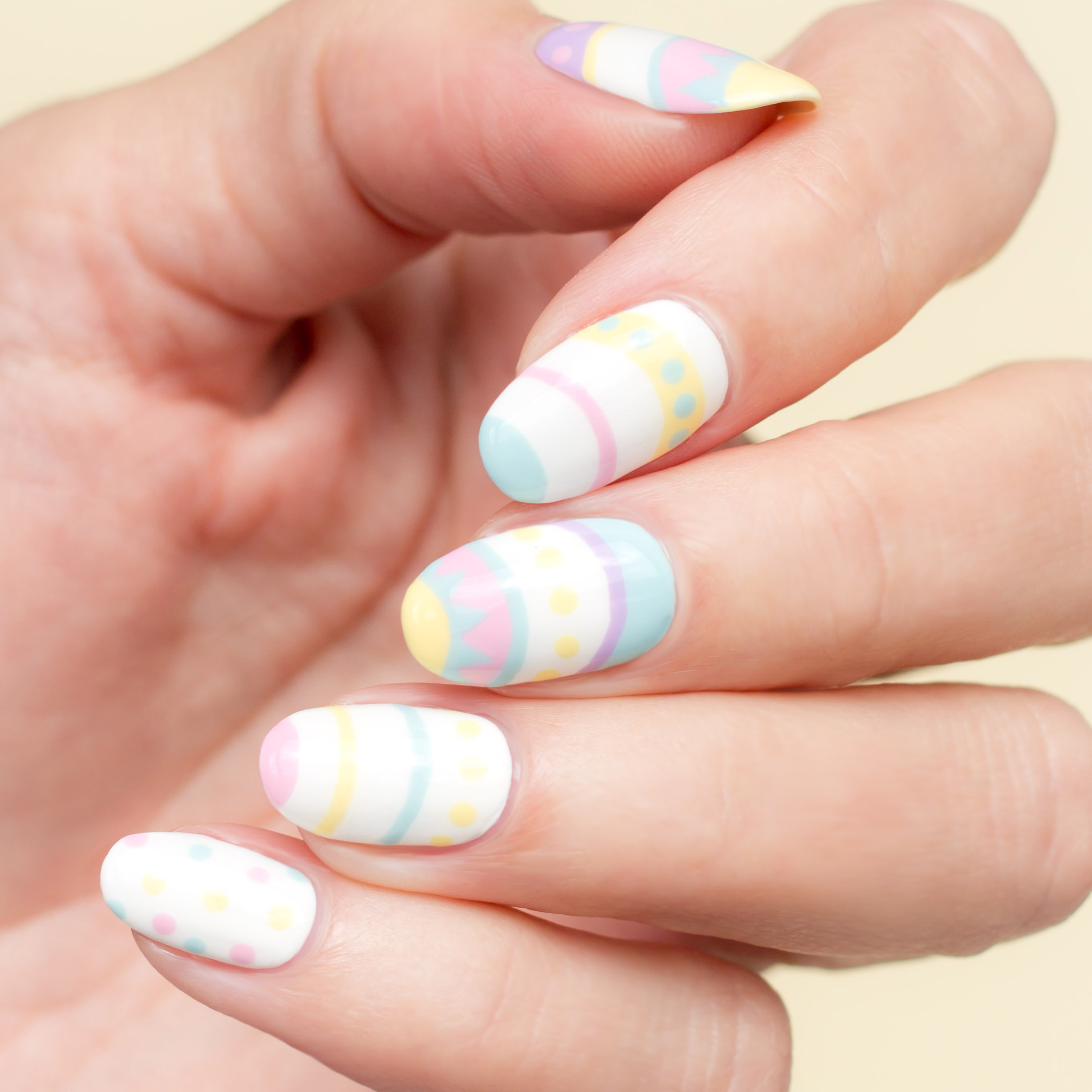 Get The Look Easter Nail Art Opi Uk